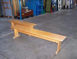 houten bankjes #3