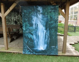 decordoek waterval