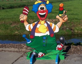 ringwerpplaat clown #2