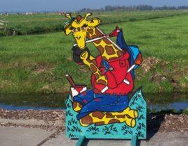 ringwerpplaat giraffe #2