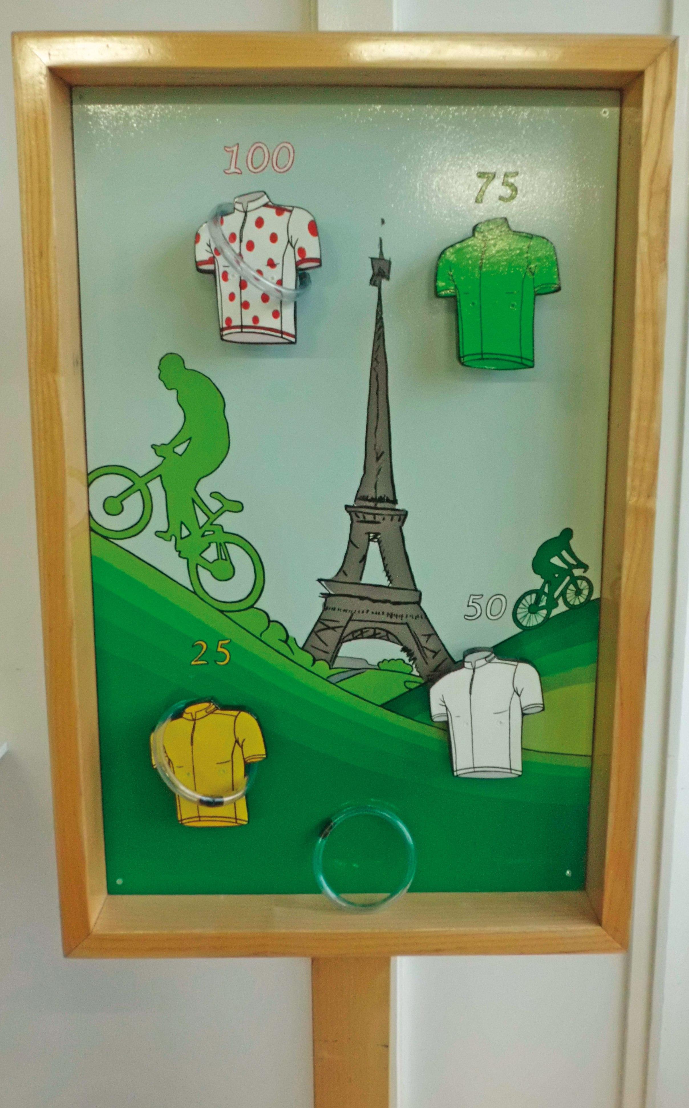Tour de France Ringgooien
