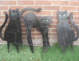 zwarte kat (decor)