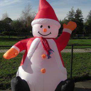 Sneeuwpop Kerst 2,40m (2)